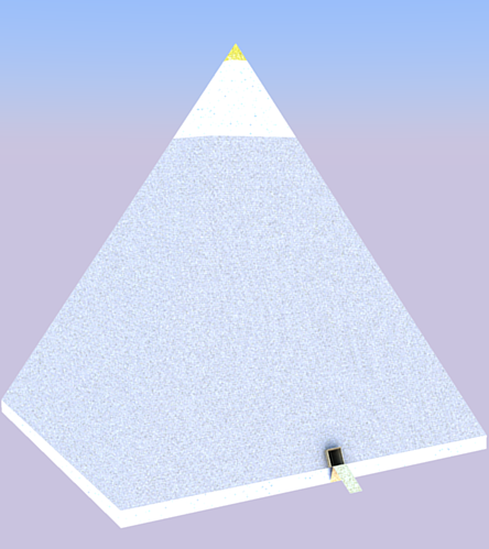 Pyramid of the Living