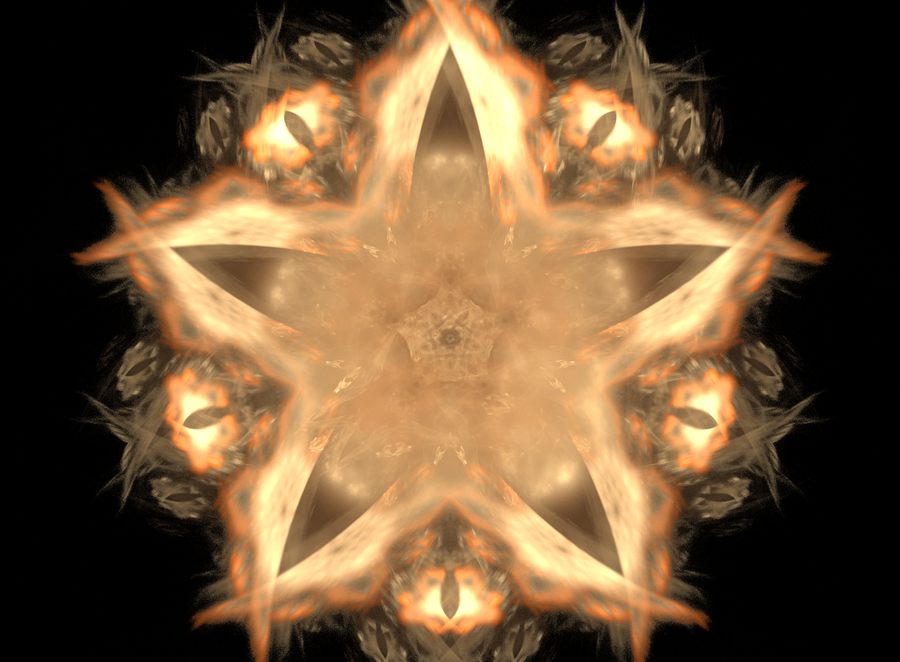 """Abstract Orderism Fractal XL"" by G. Stolyarov II"