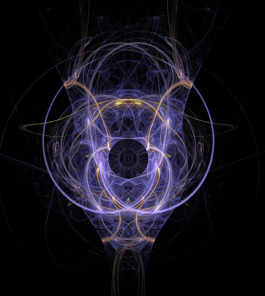 """Abstract Orderism Fractal XXI"" by G. Stolyarov II"