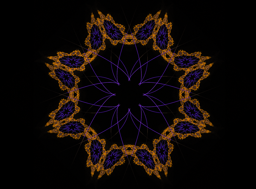 """Abstract Orderism Fractal XXXVII"" by G. Stolyarov II"