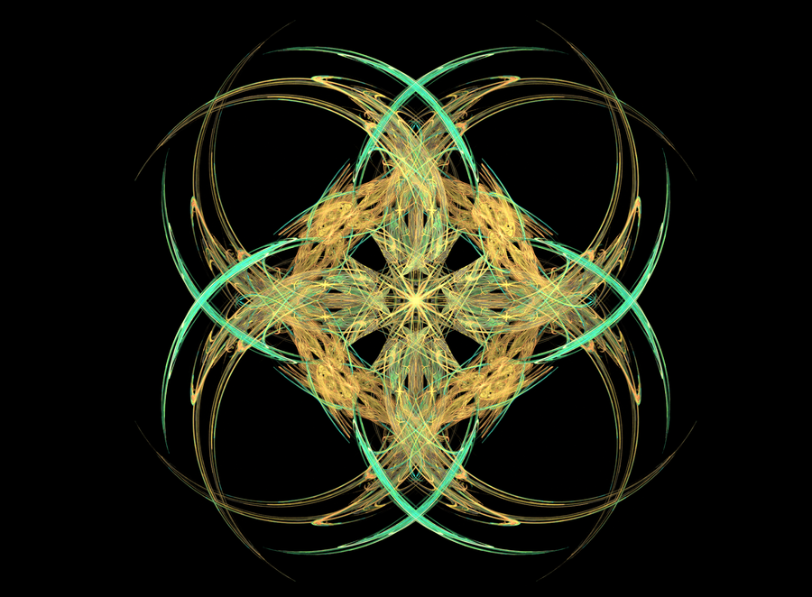 """Abstract Orderism Fractal XXX"" by G. Stolyarov II"