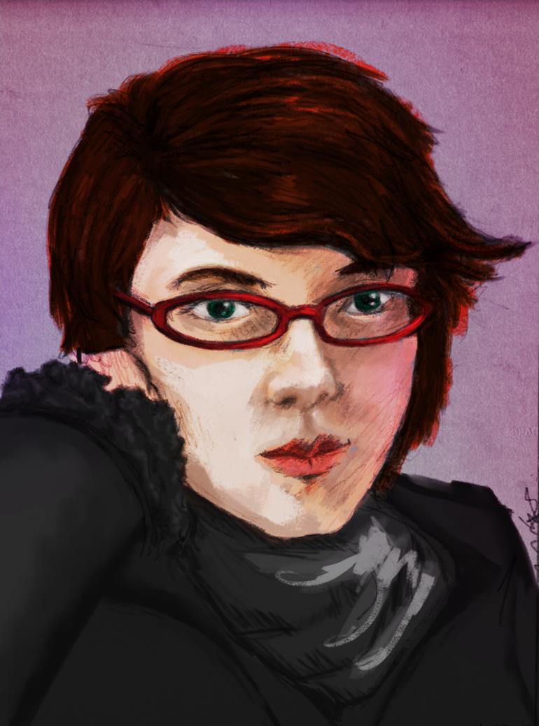 """Self-Portrait - January 2011"" by Wendy Stolyarov"