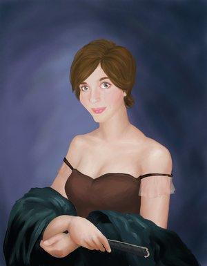 Self-Portrait by Wendy D. Bateman